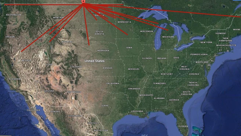 Esf Distrubution Map